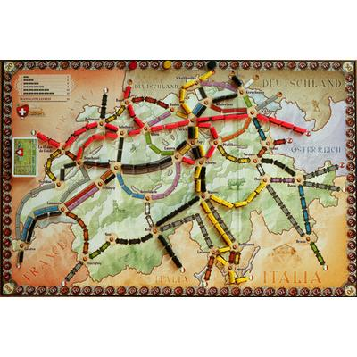 Ticket to Ride - India, Switzerland