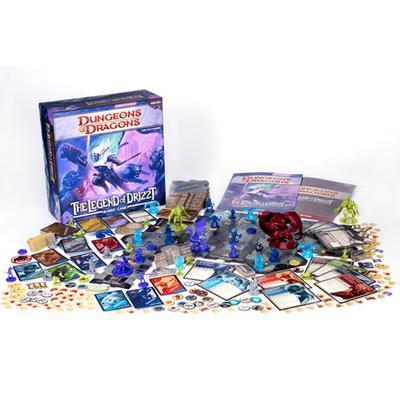 The Legend of Drizzt Boardgame
