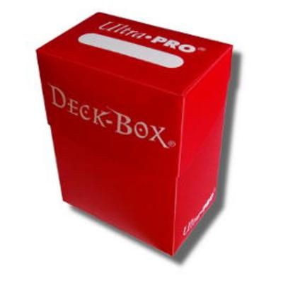 Red Deck Box