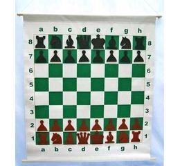 Μαγνητική σκακιέρα τοίχου για διδασκαλία