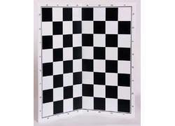 Πλαστική Αναδιπλούμενη Σκακιέρα Μαύρη