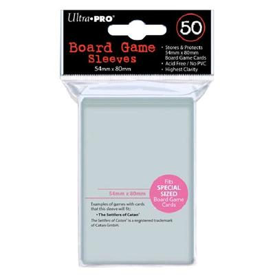 Boardgame Sleeves Special Sized 54x80mm