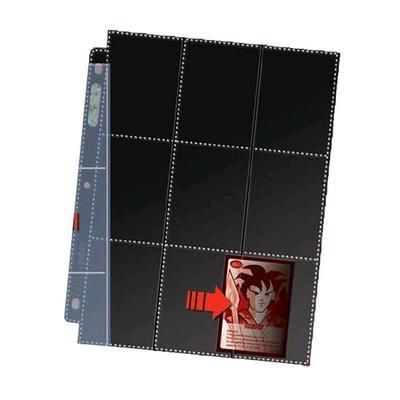 18-Pocket Sideload Black Pages