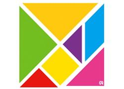 Tangram Multicolored