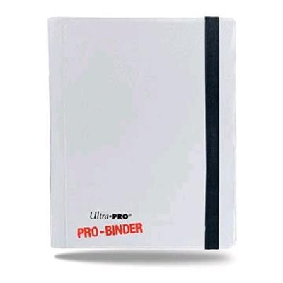 Pro Binder White 4-Pocket Portfolio