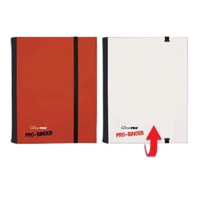 Pro Binder Red/White 4-Pocket Portfolio