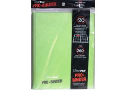 Pro Binder Light Green Portfolio