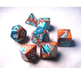 Gemini - Copper/Teal/ Silver