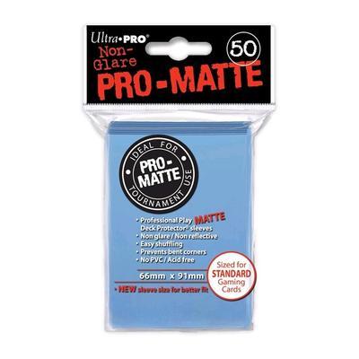 Pro Matte Light Blue Deck Protectors