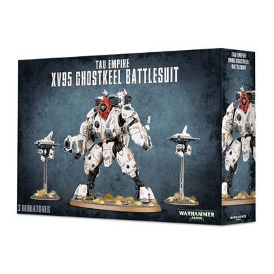 Tau Empire XV95 Ghostkeel Battlesuit