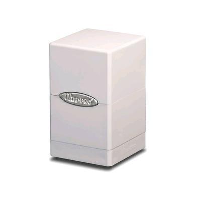 Satin White Tower Deck Box