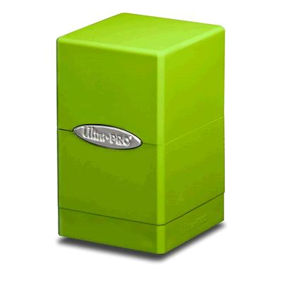 Satin Lime Green Tower Deck Box