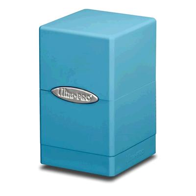 Satin Light Blue Tower Deck Box
