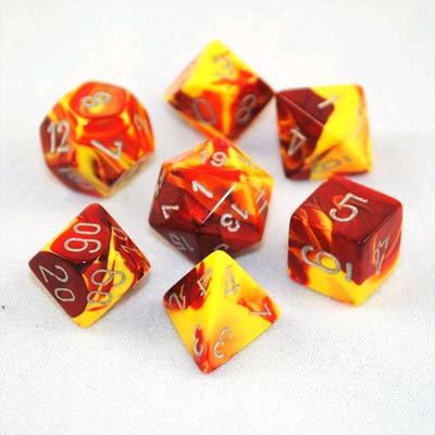 Gemini - Red/Yellow/Silver