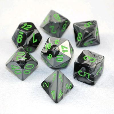 Gemini - Black/Grey/Green