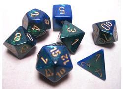 Gemini - Blue/Green/Gold