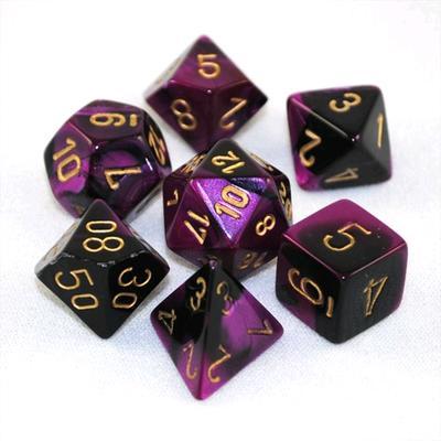 Gemini - Black/Purple/Gold