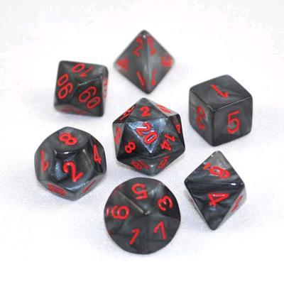 Velvet - Black/ Red