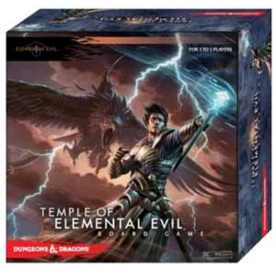 Temple of Elemental Evil Board Game