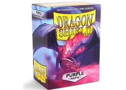 Dragon Shield Matte Puprle