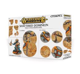Shattered Dominion 65 & 40mm Oval Bases