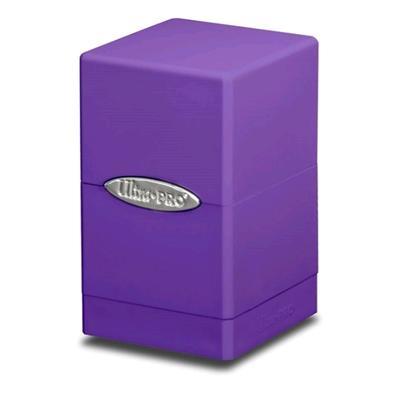Satin Purple Tower Deck Box