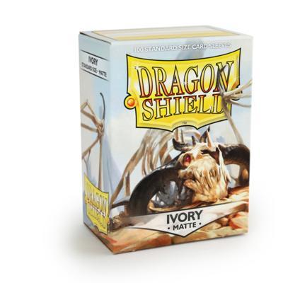 Dragon Shield Matte Ivory
