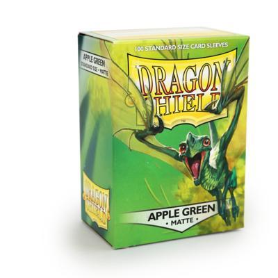 Dragon Shield Matte Apple Green