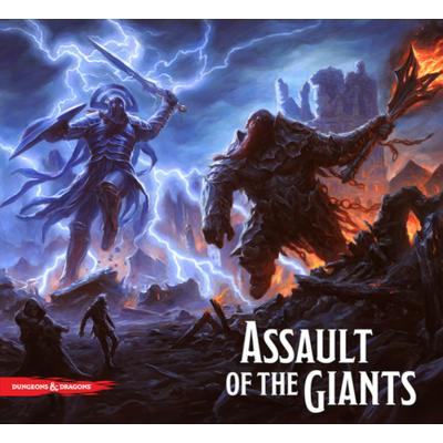 Assault of the Giants Board Game