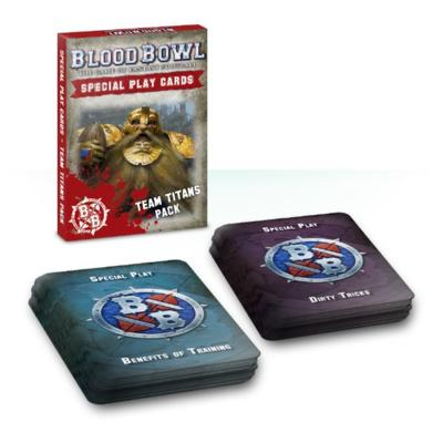 Blood Bowl Cards: Team Titans Pack