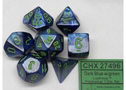 Lustrous - Dark Blue/Green
