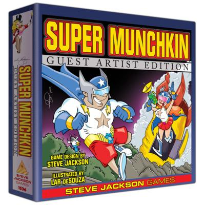 Super Munchkin Guest Artist (Lar DeSouza)