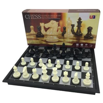 Magnetic Small Size Chess & Checker