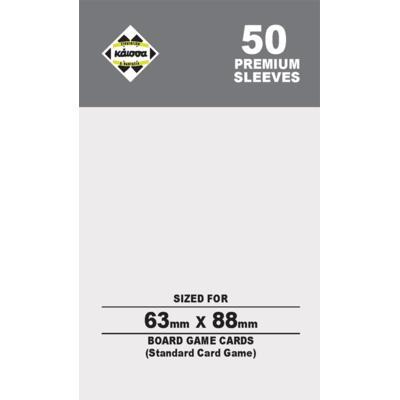 Premium Θήκες Card Game 63x88mm