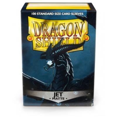 Dragon Shield Matte Jet