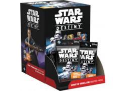 Star Wars Destiny: Spirit of Rebellion Booster Display