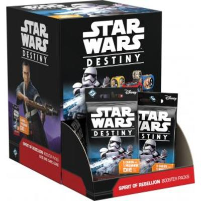 Star Wars Destiny: Spirit of Rebellion Booster Display
