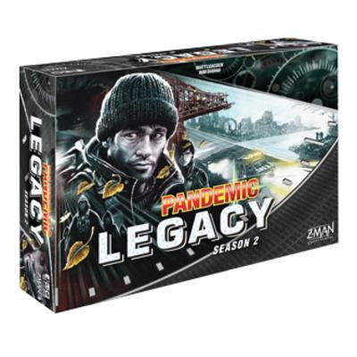 Pandemic Legacy: Season 2 (Black Edition)