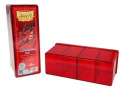 Dragon Shield Red 4-Compartment Box