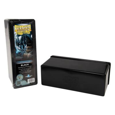 Dragon Shield Black 4-Compartment Box