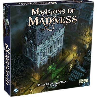 Mansions of Madness 2nd Edition - Streets of Arkham