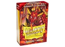 Dragon Shield Matte Crimson Small