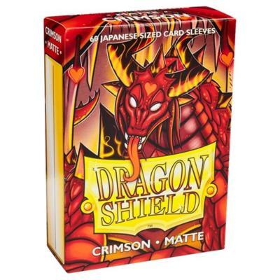 Dragon Shield Matte Crimson Small