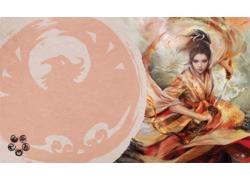 Legend of the Five Rings Lcg: The Soul of Shiba Playmat