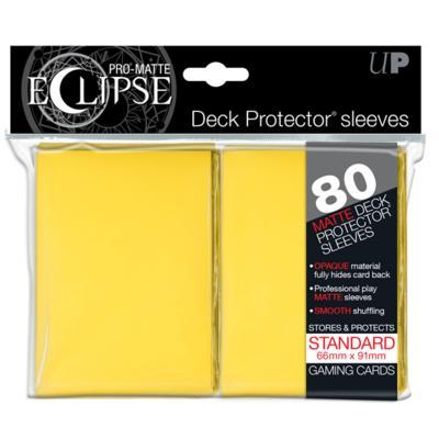 Eclipse: Yellow Pro Matte Deck Protectors