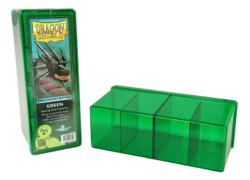 Dragon Shield Green 4-Compartment Box
