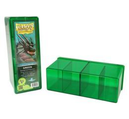 Dragon Shield Green 4-Compartment Box