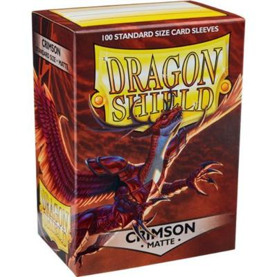 Dragon Shield Matte Crimson