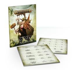 Warscroll Cards: Maggotkin of Nurgle