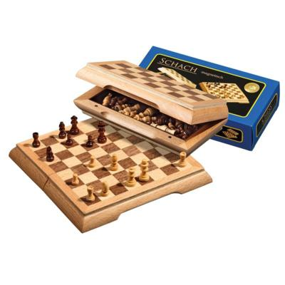 Travel Chess Set Magnetic, field 17mm